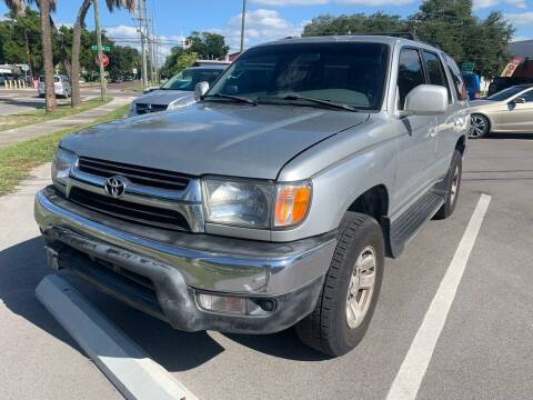 2002 Toyota 4Runner for sale at CHECK  AUTO INC. in Tampa FL