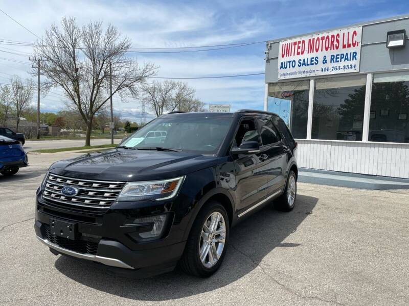 2017 Ford Explorer for sale at United Motors LLC in Saint Francis WI