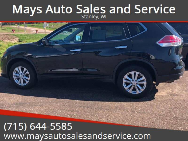 2016 Nissan Rogue for sale at Mays Auto Sales and Service in Stanley WI