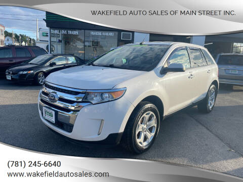 2012 Ford Edge for sale at Wakefield Auto Sales of Main Street Inc. in Wakefield MA