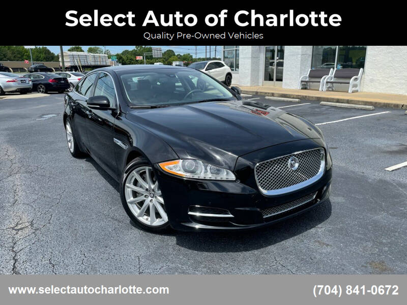 2013 Jaguar XJ for sale at Select Auto of Charlotte in Matthews NC