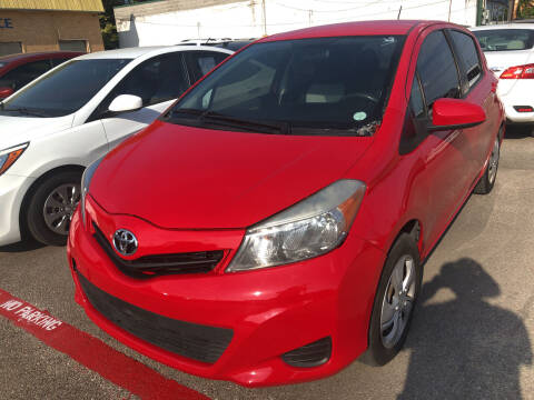 2013 Toyota Yaris for sale at Auto Access in Irving TX