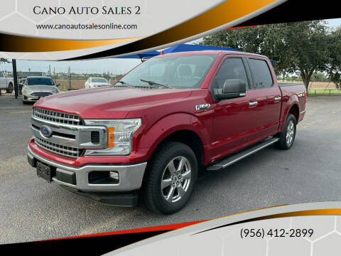 2018 Ford F-150 for sale at Cano Auto Sales 2 in Harlingen TX