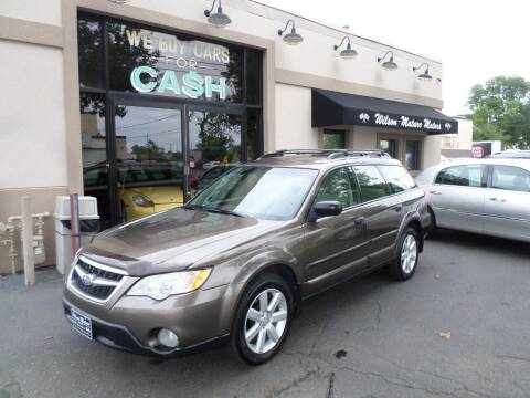 2008 Subaru Outback for sale at Wilson-Maturo Motors in New Haven CT