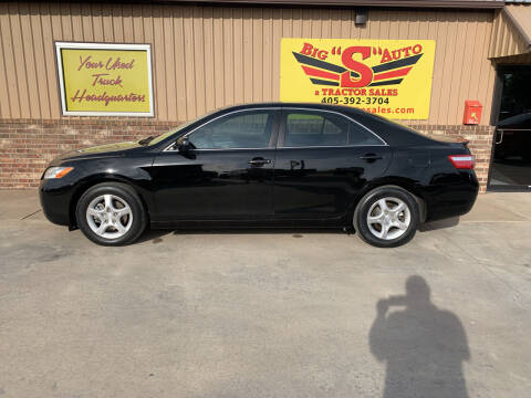 2008 Toyota Camry for sale at BIG 'S' AUTO & TRACTOR SALES in Blanchard OK