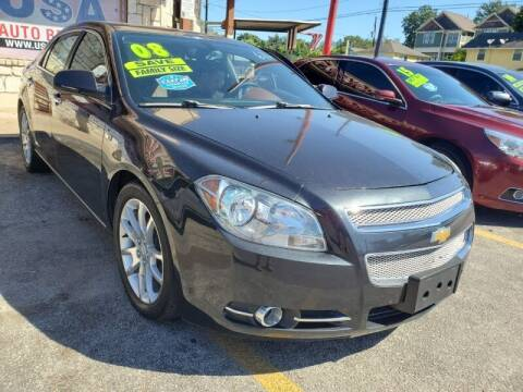 2008 Chevrolet Malibu for sale at USA Auto Brokers in Houston TX