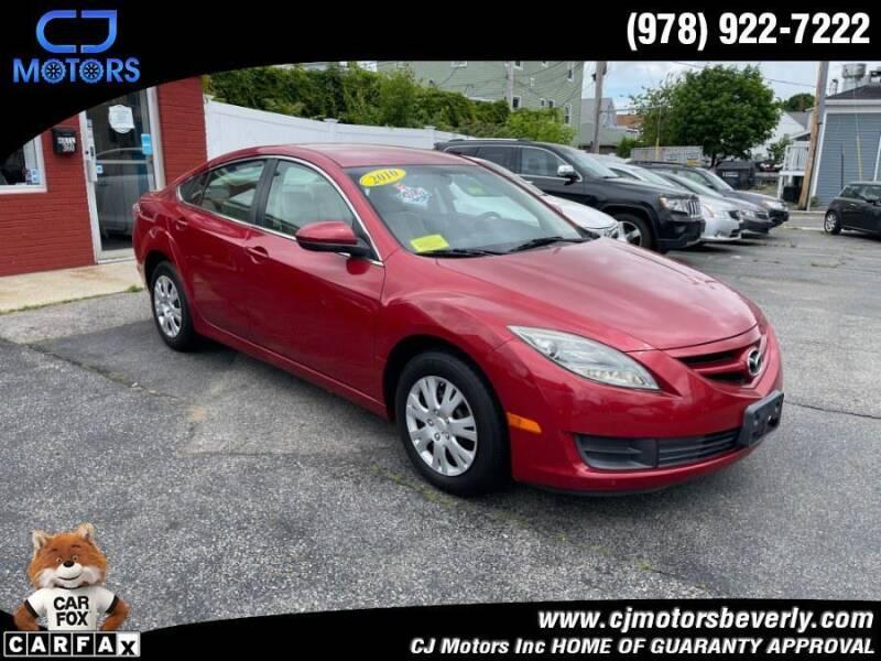 2010 Mazda MAZDA6 for sale at CJ Motors Inc. in Beverly MA