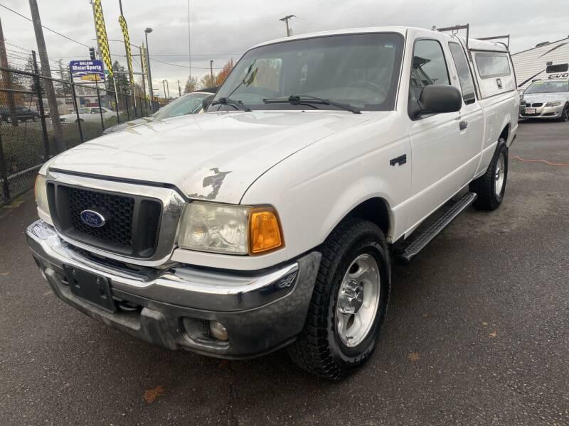 2004 Ford Ranger for sale at Salem Motorsports in Salem OR