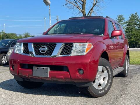 2006 Nissan Pathfinder for sale at MAGIC AUTO SALES in Little Ferry NJ