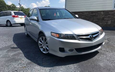 2007 Acura TSX for sale at No Full Coverage Auto Sales in Austell GA