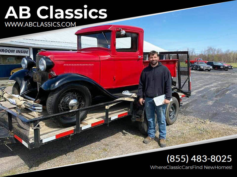 1932 Ford SOLD F-100 for sale at AB Classics in Malone NY