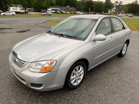 2007 Kia Spectra for sale at CVC AUTO SALES in Durham NC
