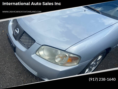 2006 Nissan Sentra for sale at International Auto Sales Inc in Staten Island NY