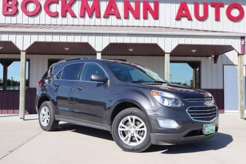 2016 Chevrolet Equinox for sale at Bockmann Auto Sales in Saint Paul NE
