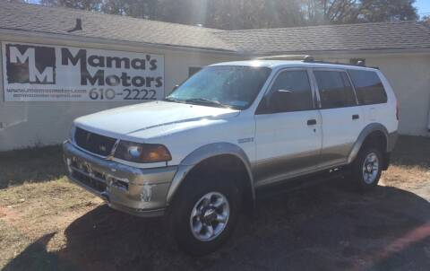1998 Mitsubishi Montero Sport for sale at Mama's Motors in Greer SC