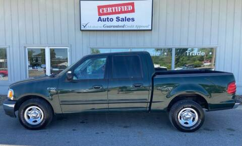 2003 Ford F-150 for sale at Certified Auto Sales in Des Moines IA