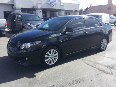 2010 Toyota Corolla for sale at Beutler Auto Sales in Clearfield UT