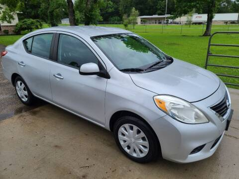 2012 Nissan Versa for sale at MG Autohaus in New Caney TX