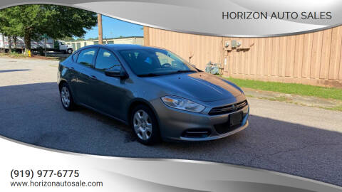 2013 Dodge Dart for sale at Horizon Auto Sales in Raleigh NC