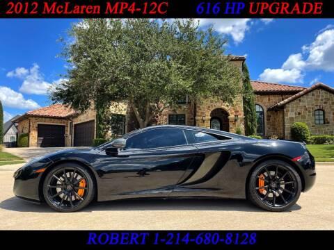 2012 McLaren MP4-12C for sale at Mr. Old Car in Dallas TX