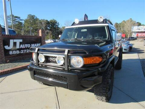 2007 Toyota FJ Cruiser for sale at J T Auto Group in Sanford NC