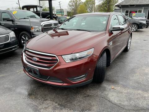 2016 Ford Taurus for sale at Mass Auto Exchange in Framingham MA