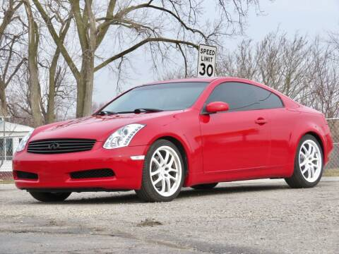 2005 Infiniti G35 for sale at Tonys Pre Owned Auto Sales in Kokomo IN