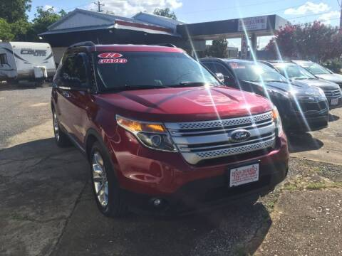 2014 Ford Explorer for sale at DEALS ON WHEELS in Moulton AL