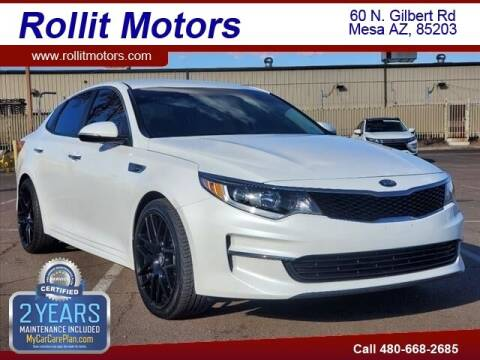 2018 Kia Optima for sale at Rollit Motors in Mesa AZ