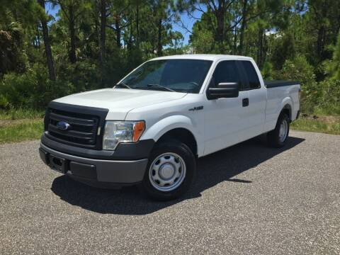 2013 Ford F-150 for sale at VICTORY LANE AUTO SALES in Port Richey FL