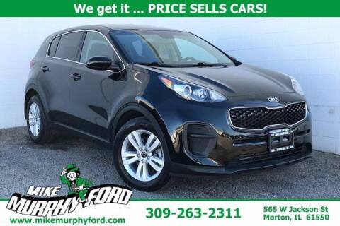 2018 Kia Sportage for sale at Mike Murphy Ford in Morton IL