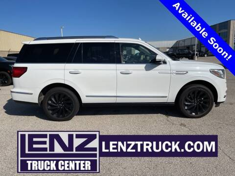 2021 Lincoln Navigator for sale at LENZ TRUCK CENTER in Fond Du Lac WI