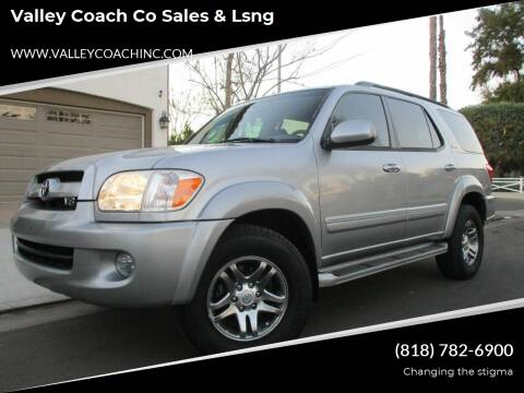 2007 Toyota Sequoia for sale at Valley Coach Co Sales & Lsng in Van Nuys CA