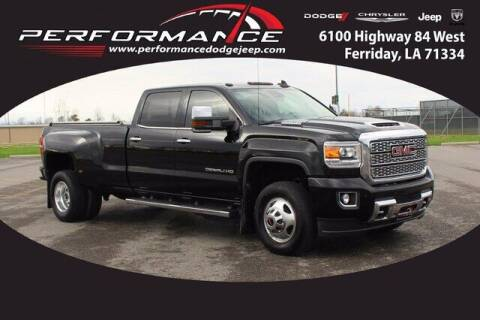 2018 GMC Sierra 3500HD for sale at Performance Dodge Chrysler Jeep in Ferriday LA