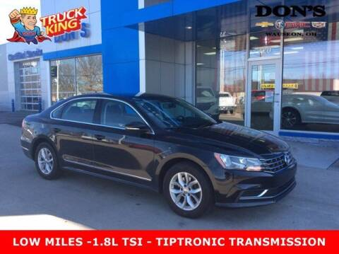 2016 Volkswagen Passat for sale at DON'S CHEVY, BUICK-GMC & CADILLAC in Wauseon OH