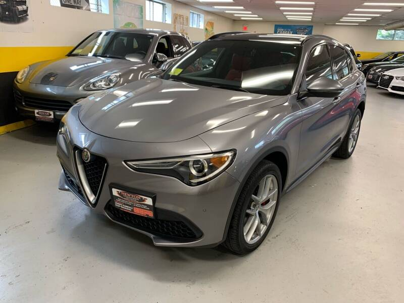 2018 Alfa Romeo Stelvio for sale at Newton Automotive and Sales in Newton MA
