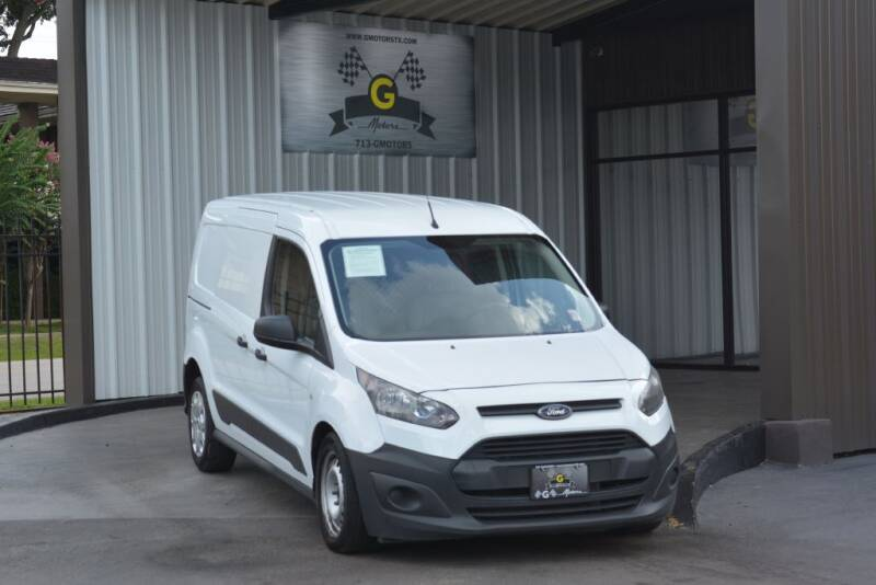 2017 Ford Transit Connect Cargo for sale at G MOTORS in Houston TX
