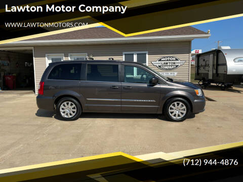 2015 Chrysler Town and Country for sale at Lawton Motor Company in Lawton IA