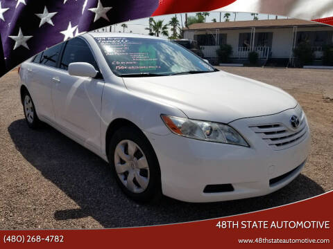 2009 Toyota Camry for sale at 48TH STATE AUTOMOTIVE in Mesa AZ