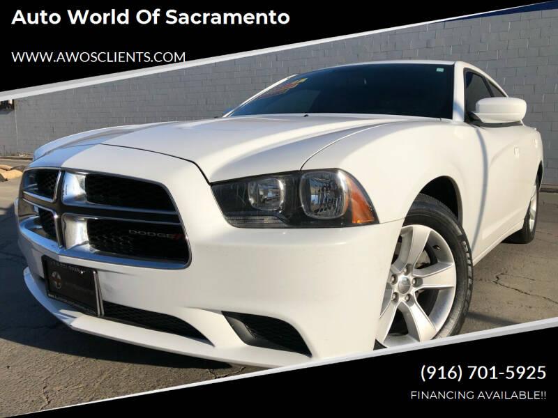2014 Dodge Charger for sale at Auto World of Sacramento Stockton Blvd in Sacramento CA