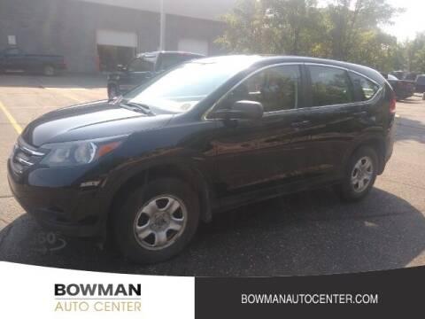 2014 Honda CR-V for sale at Bowman Auto Center in Clarkston MI