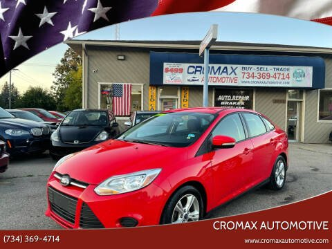 2014 Ford Focus for sale at Cromax Automotive in Ann Arbor MI