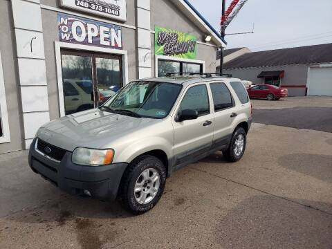 2004 Ford Escape for sale at MARIETTA MOTORS LLC in Marietta OH