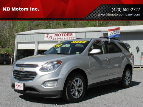 2017 Chevrolet Equinox for sale at KB Motors Inc. in Bristol VA