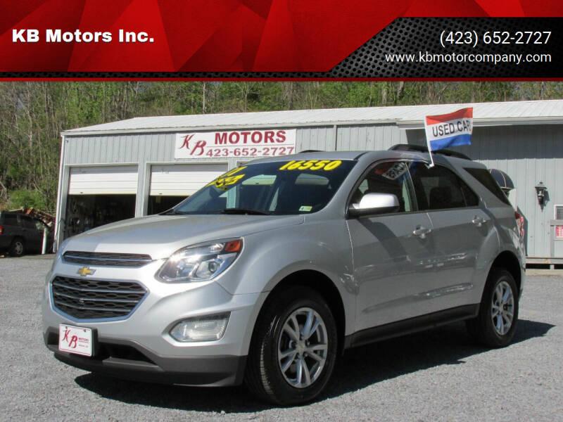 2017 Chevrolet Equinox for sale at KB Motors Inc. in Bristol VA