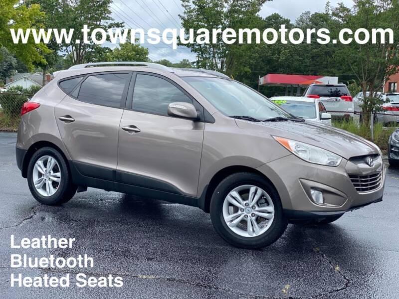 2013 Hyundai Tucson for sale at Town Square Motors in Lawrenceville GA
