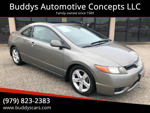 2008 Honda Civic for sale at Buddys Automotive Concepts LLC in Bryan TX