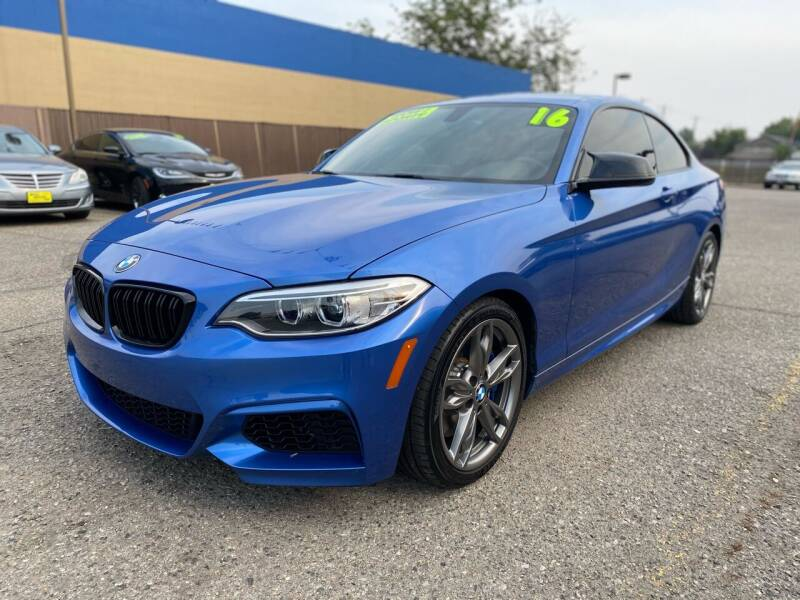 2016 BMW 2 Series for sale at M.A.S.S. Motors in Boise ID