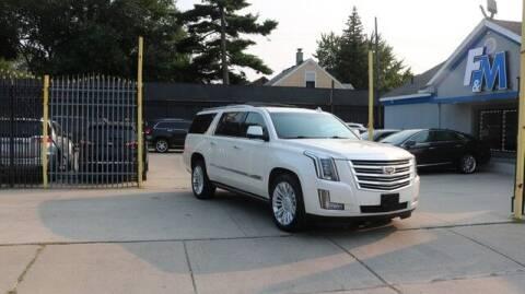 2015 Cadillac Escalade ESV for sale at F & M AUTO SALES in Detroit MI