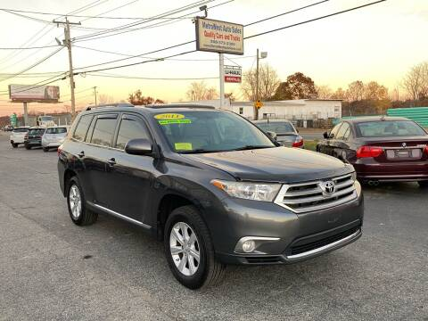 2011 Toyota Highlander for sale at MetroWest Auto Sales in Worcester MA